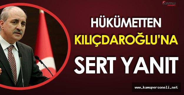 Hükümet Sözcüsü Numan Kurtulmuş'tan Kılıçdaroğlu'na Sert Yanıt