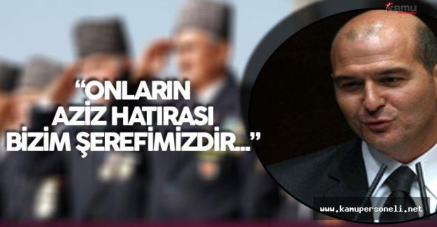 İçişleri Bakanı'ndan 19 Eylül Gaziler Günü Mesajı