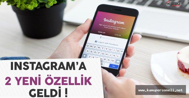 Instagram 2 Yeni Özelliğini Kullanıcılara Sundu