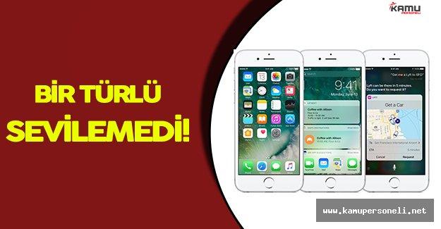 iOS 10 Bir Türlü Sevilemiyor!