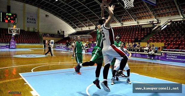 İşitme Engelliler Basketbol Erkekler Şampiyonası Devam Ediyor