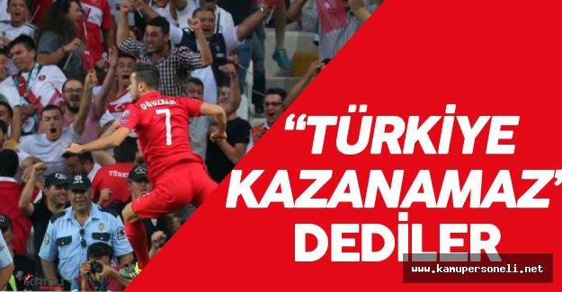 """İspanya Türkiye Maçı İçin Favori """"İspanya"""" Dediler"""