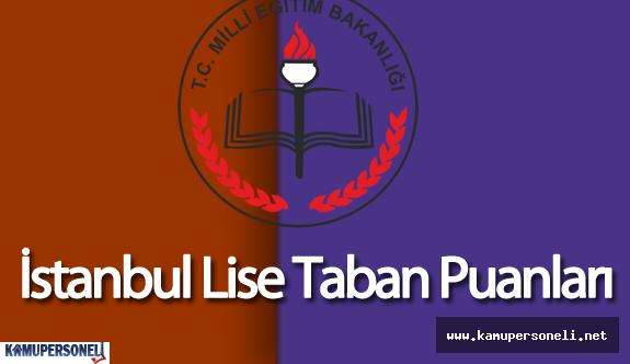 İstanbul 2015 Lise Taban Puanları ( 2016 Lise Taban Puanları Açıklandı Mı? )