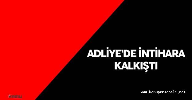 İstanbul Adliyesi'nde Bir Kişi İntihara Kalkıştı