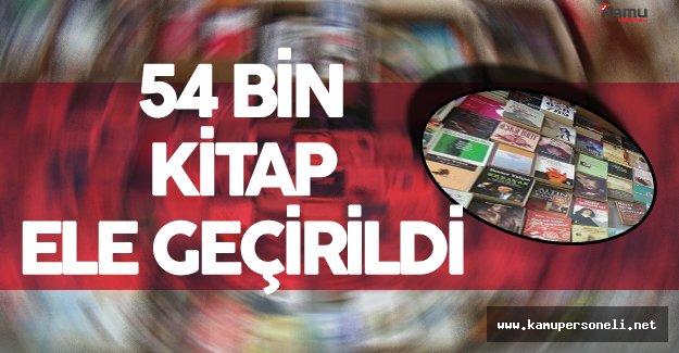 İstanbul'da 'Korsan Kitap' Operasyonu ! 54 Bin Korsan Kitap Ele Geçirildi