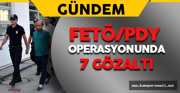 İzmir'de FETÖ Mensupları Gözaltına Alındı