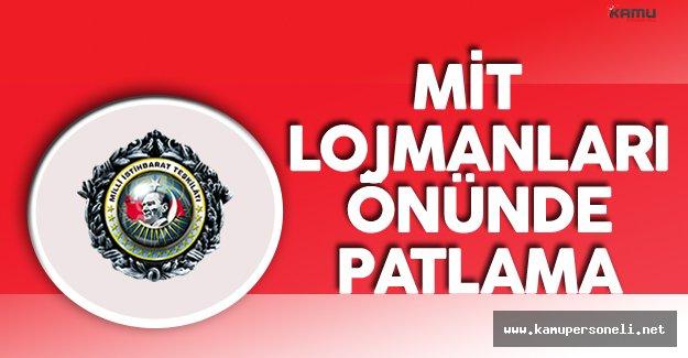 İzmir'de MİT Lojmanları Önüne El Yapımı Patlayıcı Atıldı
