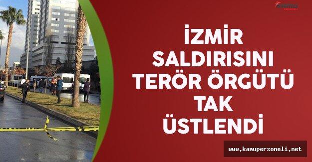 İzmir Saldırısını Terör Örgütü TAK Üstlendi
