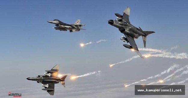 Kandil'e Hava Harekatı Düzenlendi: 9 Terörist Etkisiz Hale Getirildi