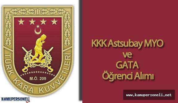 Kara Kuvvetleri Komutanlığı (K.K.K) Astsubay Meslek Yüksek Okulu Öğrenci Alımı Başvuruları Devam Ediyor