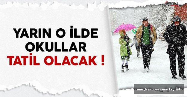 Karabük'te yarın (8 Aralık) okullar tatil edildi
