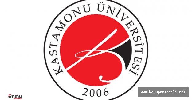 Kastamonu Üniversitesi Akademik Personel Alımı İlanı