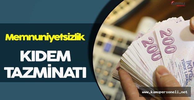 Kıdem Tazminatında Hakim Görüş: Memnuniyetsizlik
