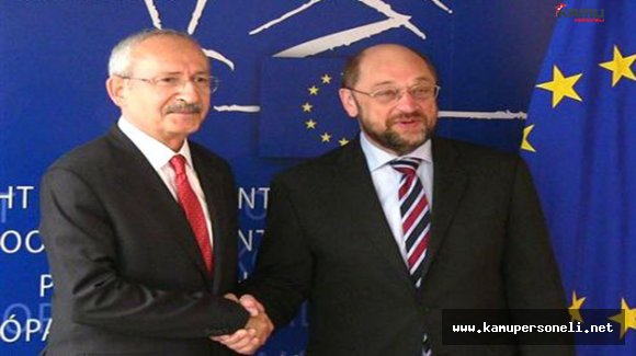 Kılıçdaroğlu AP Başkanı Schulz ile Görüşecek
