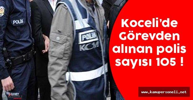 Kocaeli'de Görevden Alınan Polis Sayısı 105 Oldu