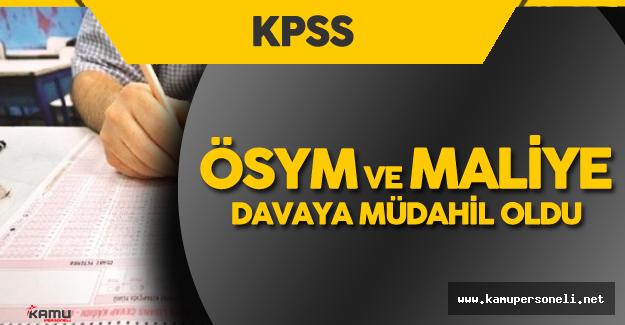 KPSS Sorularının Sızdırılması Davasına ÖSYM ve Maliye Bakanlığı Müdahil Oldu