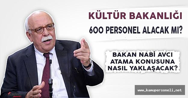 Kültür Bakanlığı 600 Personel Alacak Mı?