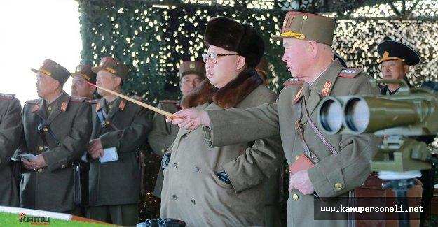 Kuzey Kore Bir Kez Daha Füze Denemesi Yaptı
