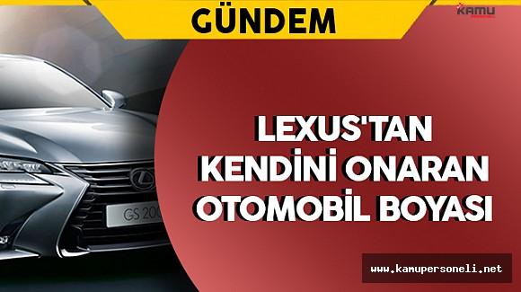 Lexus'tan Kendini Onaran Otomobil Boyası