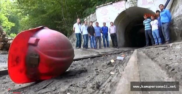 Maden İşçileri Maaş Eyleminde