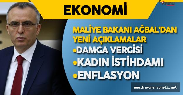 Maliye Bakanı Naci Ağbal'dan Damga Vergisi Konusunda Yeni Açıklama