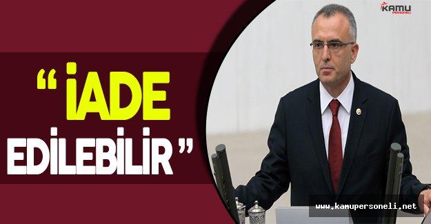 """Maliye Bakanı Naci Ağbal: """" Hakkaniyete aykırıysa, geçmişteki trafik cezaları iade edilebilir. """""""