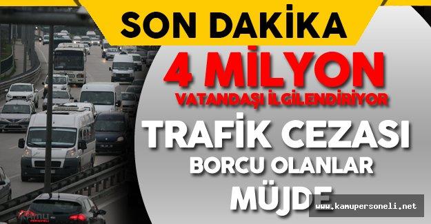 Maliye Bakanı'ndan Trafik Cezası Borcu Olan Vatandaşlara Müjde