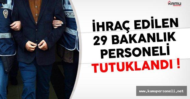 Maliye Bakanlığı'nda ihraç edilen 29 memur tutuklandı