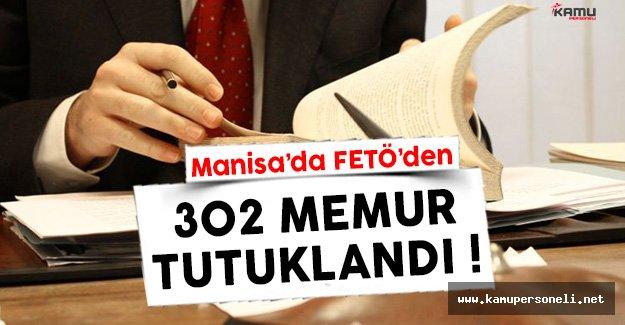 Manisa'da Yüzlerce Kamu Personeli Tutuklandı !