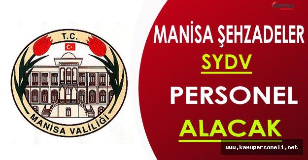 Manisa SYDV Personel Alımı Yapacak