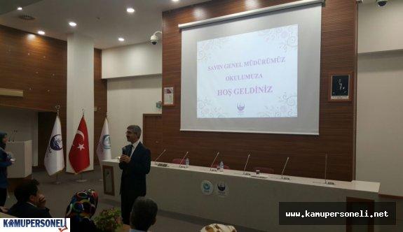 MEB Din Öğretimi Genel Müdürü İnceleme Ziyaretinde