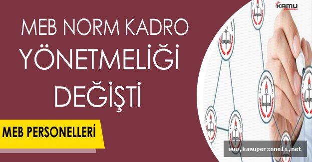 MEB Norm Kadro Yönetmeliği Değişti !