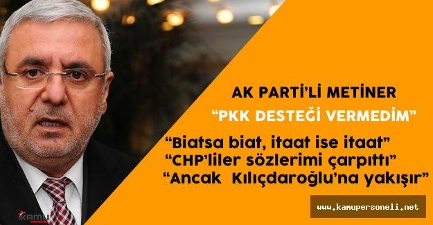 Mehmet Metiner 'den Kılıçdaroğlu'na PKK Konusunda Destek Yok