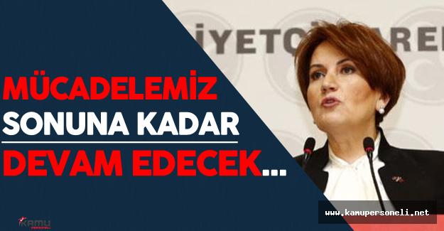"""Meral Akşener: """"Türk Milliyetçileri engellenemeyecektir!"""""""