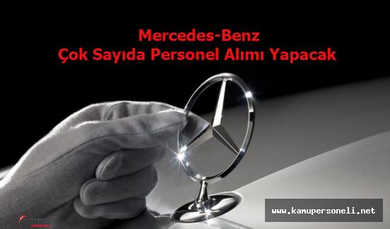 Mercedes-Benz Personel Alım İlanı