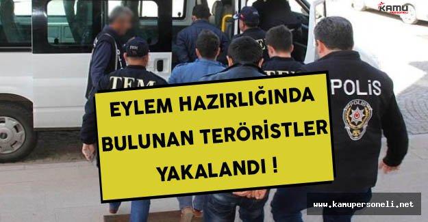 Mersin'de Eylem Hazırlığında Bulunan Teröristler Yakalandı