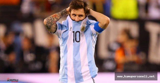 Messi Arjantin Milli Takımını Bırakma Kararı Aldı