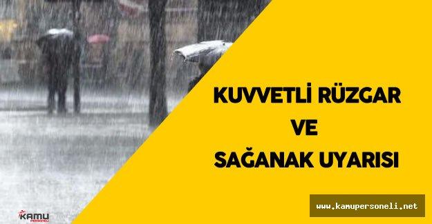 """Meteoroloji : """"İç Anadolu'da Kuvvetli Rüzgar ve Sağanak Yağış Bekleniyor"""""""
