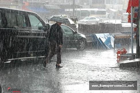Meteoroloji uyardı: Akşam saatlerinde gök gürültülü sağanak yağış var