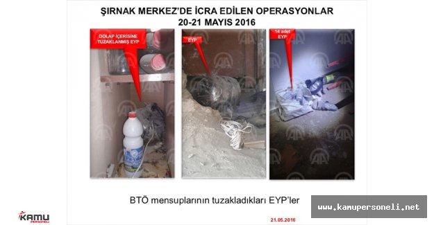 Şırnak'ta Meyvelerin İçine Bile Bomba Düzeneği Kurulmuş