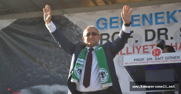 MHP Genel Başkan Adayı Mustafa Sait Gönen Konya'da