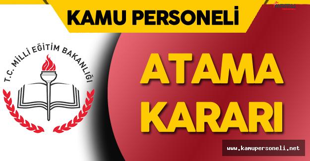 Milli Eğitim Bakanlığı'na Atama Kararı Resmi Gazete'de Yayımlandı