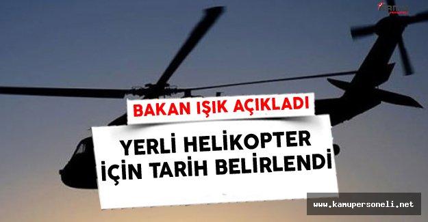 Milli Helikopterin Uçacağı Tarih Belli Oldu