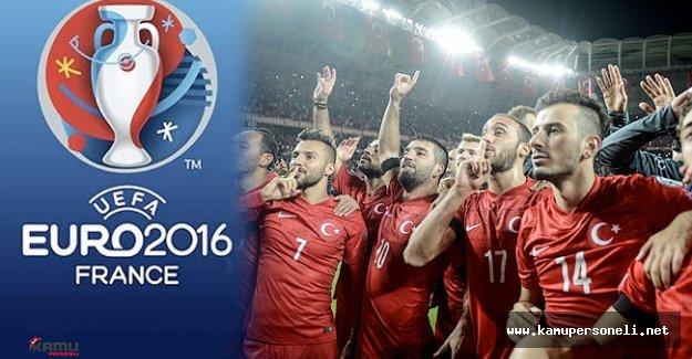 Milli Takımın EURO 2016 Maç Takvimi