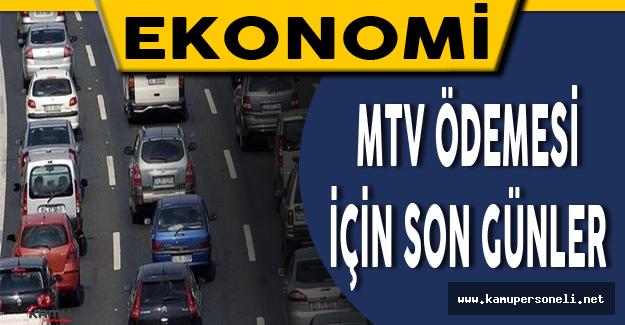 MTV İçin Son Günler - Motorlu Taşıt Vergisi Sorgulaması ve Kredi Kartı ile Ödeme