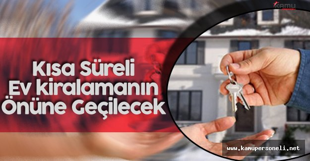 """Mustafa Demir: """" Kısa Süreli Evlerini Kiraya Verenlerin Önüne Geçeceğiz..."""""""