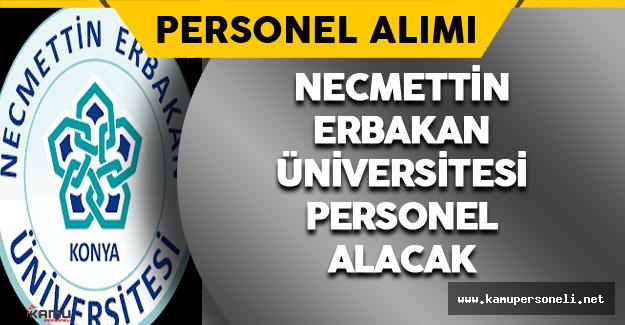 Necmettin Erbakan Üniversitesi Sözleşmeli Bilişim Personeli Alacak