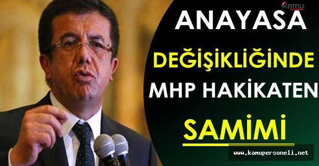 Nihat Zeybekci: Anayasa Değişikliğinde MHP Hakikaten Samimi
