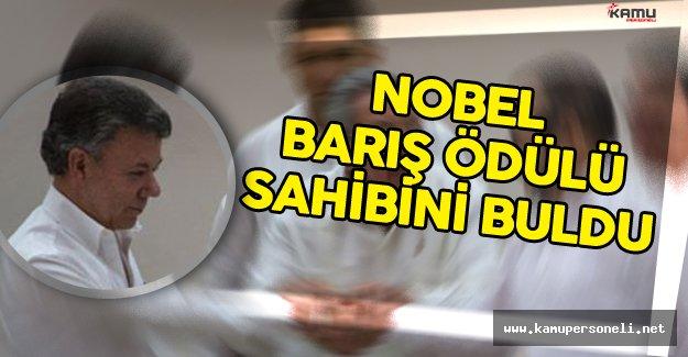 Nobel Barış Ödülü Sahibini Buldu !