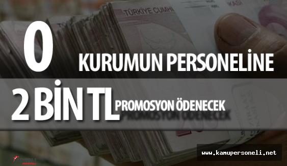 Çevre ve Şehircilik Bakanlığı Personeline 2 Bin TL Promosyon Ödemesi Yapılacak
